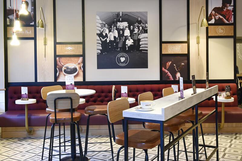 Costa Coffee store format category development