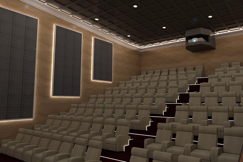 AGD cinema screen design Russia