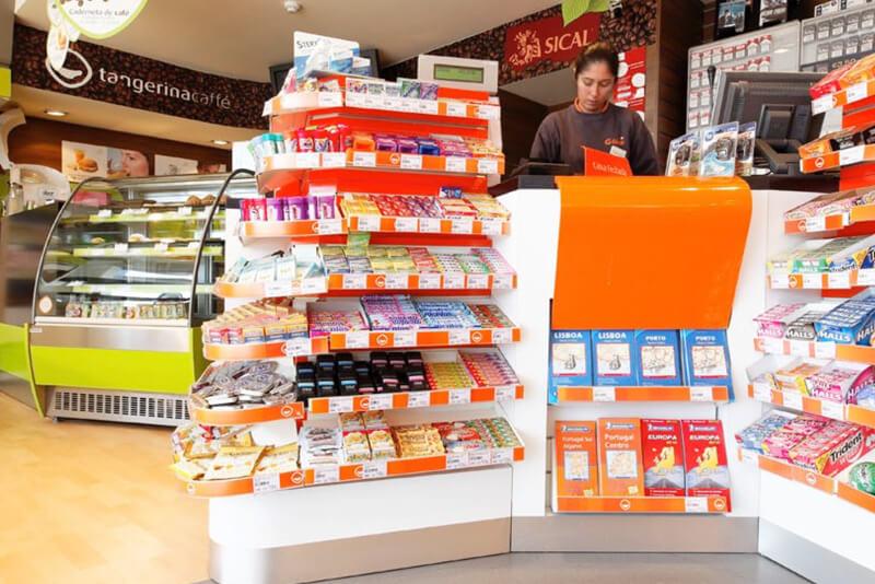 Galp forecourt retail design