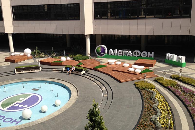 Megafon Olympics retail design