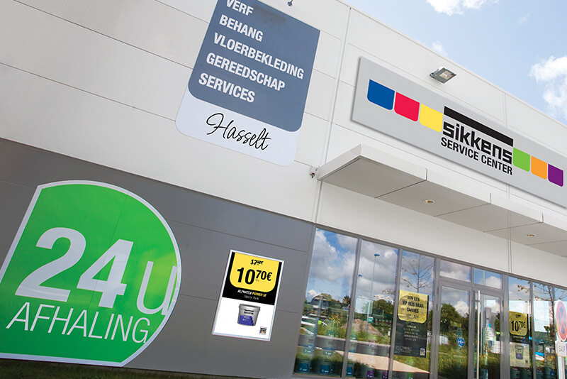 Sikkens b2b retail store design
