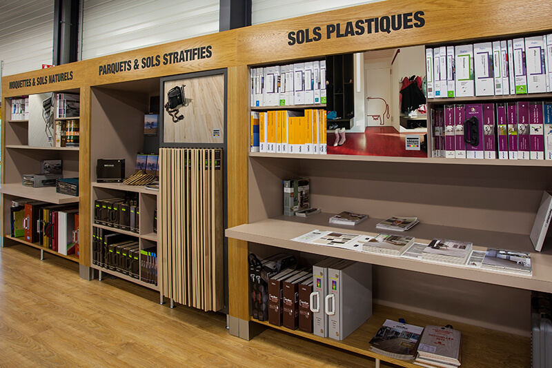 Sikkens retail fixtures design