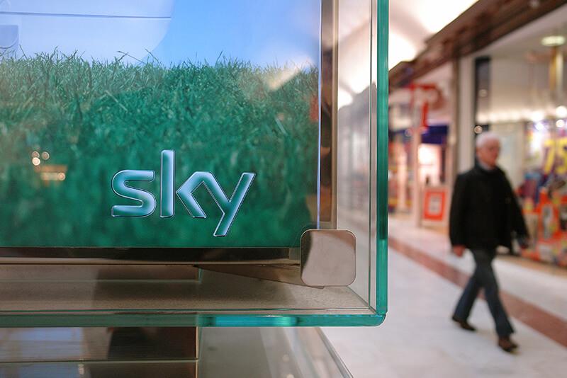 Sky retail kiosk design