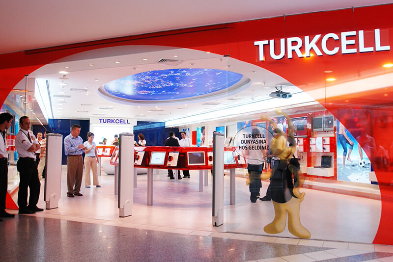 Turkcell flagship store design